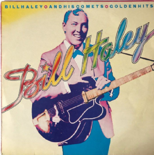 Bill Haley And His Comets ‎- Golden Hits (LP) (G+/G-VG)